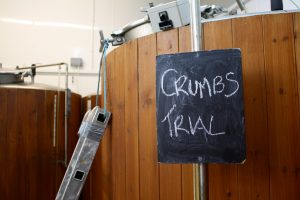 Crumbs brewing trial